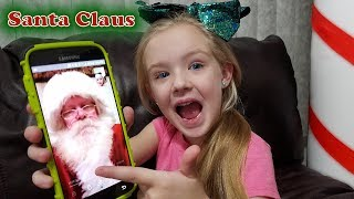 Calling Santa Claus! He Answers & I Give You His Real Phone Number