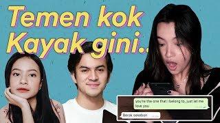 Prank Text ! Nyatain Cinta Ke Rizky Nazar Tapi DITOLAK?? | Megan Domani