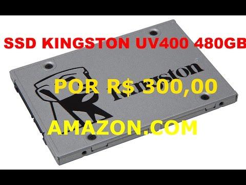 SSD BARATINHO -  480GB POR R$ 300,00 - AMAZON.COM