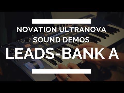 Novation Ultranova - Lead Sounds - Bank A - EVERY SOUND!