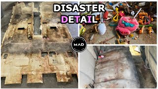 Deep Cleaning The Worlds NASTIEST Car Ever!! | Extreme Interior Extraction | Insane Transformation!