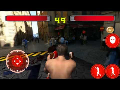Vídeo do Street fighter Boxe 2014