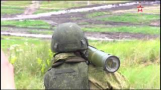 Огнемет «Шмель» выжигает укрытие «боевиков»  кадры конкурса «Белое солнце – 2017»