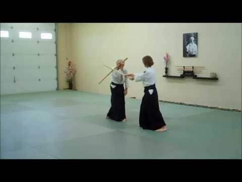 Aikido Bokken Kata 1-5 de SAOTOME