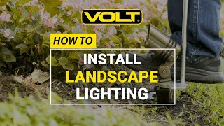 How To Install Landscape Lighting - Easy Step-by-Step DIY Guide