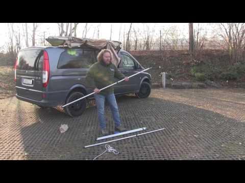 Abanico Fächermarkise Produktvideo - Foxwing Markise Sonnensegel VAN