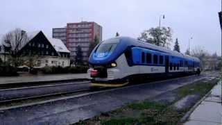 preview picture of video 'RegioShark 844 003-4, Rožnov pod Radhoštem'