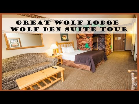 BG Travel: Great Wolf Lodge Wolf Den Suite Room Tour