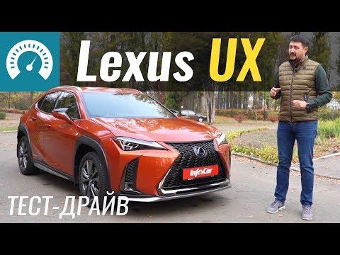Lexus Ux 250h Кроссовер класса J - тест-драйв 3