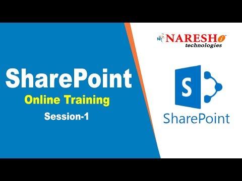 SharePoint Online Training Session -1 |  SharePoint Online Training