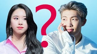 BTS x TWICE: RM and Chaeyoung - Something happened?