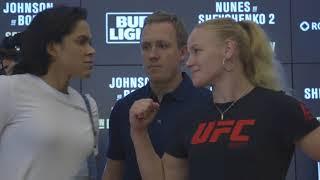 UFC 215: Media Day Face-offs