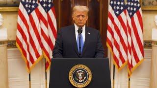 Przemówienie pożegnalne prezydenta Donalda J. Trumpa-nagranie w j.angielskim