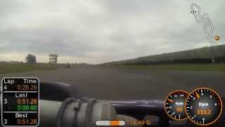preview picture of video 'Subaru 400 - Circuit de Pau-Lescar - Finale - 28/09/2014'