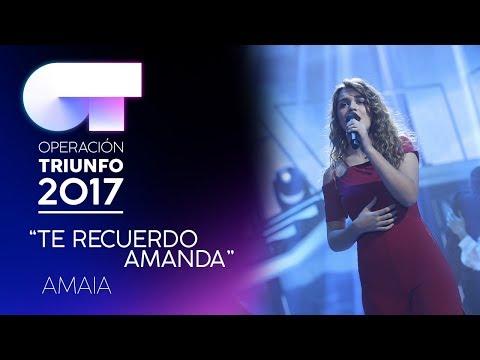 Te Recuerdo Amanda