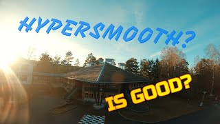 First flight with HyperSmooth l FPV