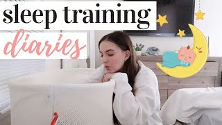 SLEEP TRAIN WITH US 🌙 | MODIFIED CRY IT OUT SLEEP TRAINING FOR OUR 4 MONTH OLD
