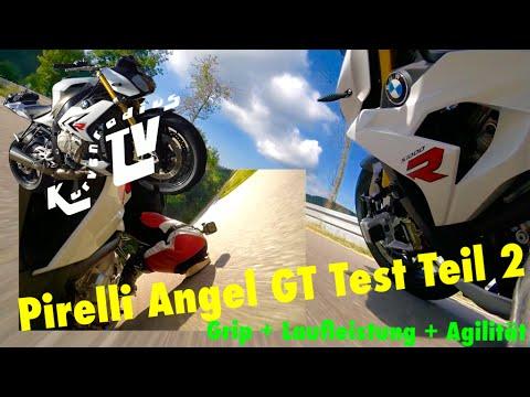 Pirelli Angel GT Test Teil 2 | Laufleistung, Agilität, Grip| 1080P | KurvenradiusTV