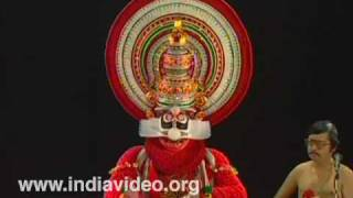 Chuvanna Thaadi - Kathakali Make-up