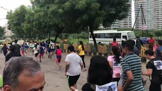 5km run to save noida forest