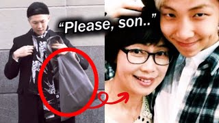 BTS RM Get Scolded by his Mother for THIS BAG?