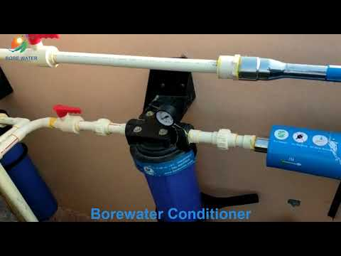 Borewater Automatic water conditioner