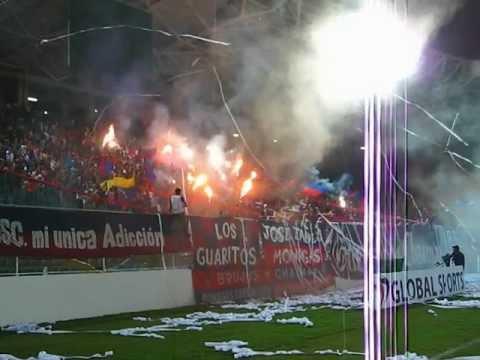 """salida Brujos Chaimas VS Liga de loja"" Barra: Guerreros Chaimas • Club: Monagas"
