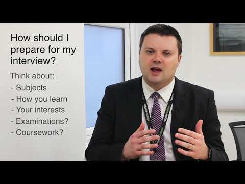 What to expect at your Interview
