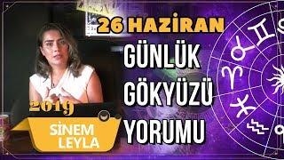 26 Haziran Günlük Gökyüzü Yorumu   Sinem Leyla   Billur TV