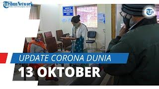 Update Corona Dunia per 13 Oktober 2021: Total 239,5 Juta Terinfeksi, Malaysia Urutan 15 Kasus Aktif