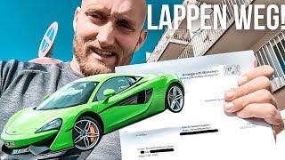 4000€ Strafe und Lappen weg! 126 Innerorts im McLaren