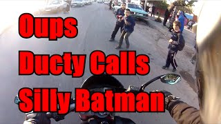preview picture of video 'Silly Batman, Duty Calls and Oups.'