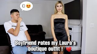 BF RATES MY OUTFITS- LAURA'S BOUTIQUE
