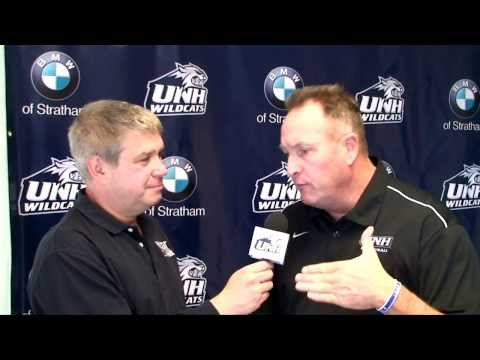 UNH Men's Basketball: Bill Herrion interview on WBIN, FCS (11/08/13)