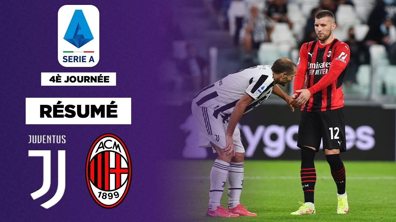 Résumé : Milan sauvé par Rebic, la Juve attend toujours une victoire