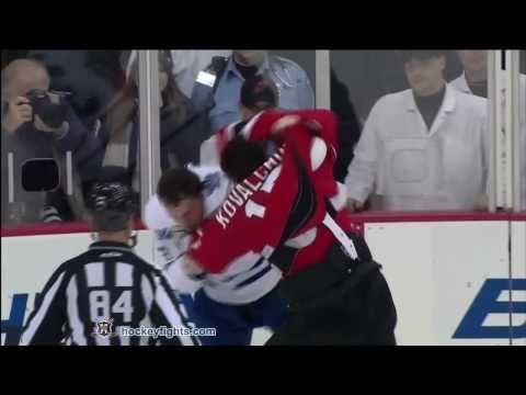 Ilya Kovalchuk vs. Dion Phaneuf