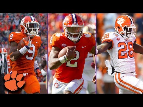 Clemson's Rushing Attack: Churning Up The ACC