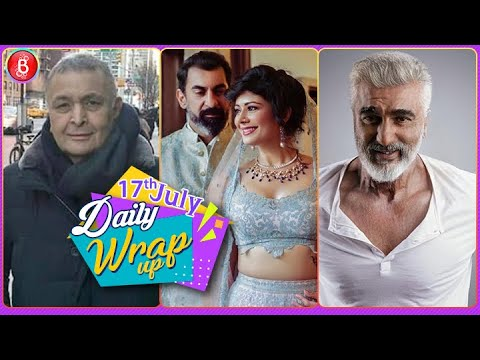 Rishi Kapoor's Cancer Details | Arjun Kapoor On Face App | Pooja-Nawab Wedding Pics | Bollywood News
