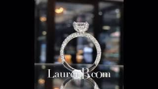 2 Carat Elongated Cushion Cut Diamond Engagement Ring