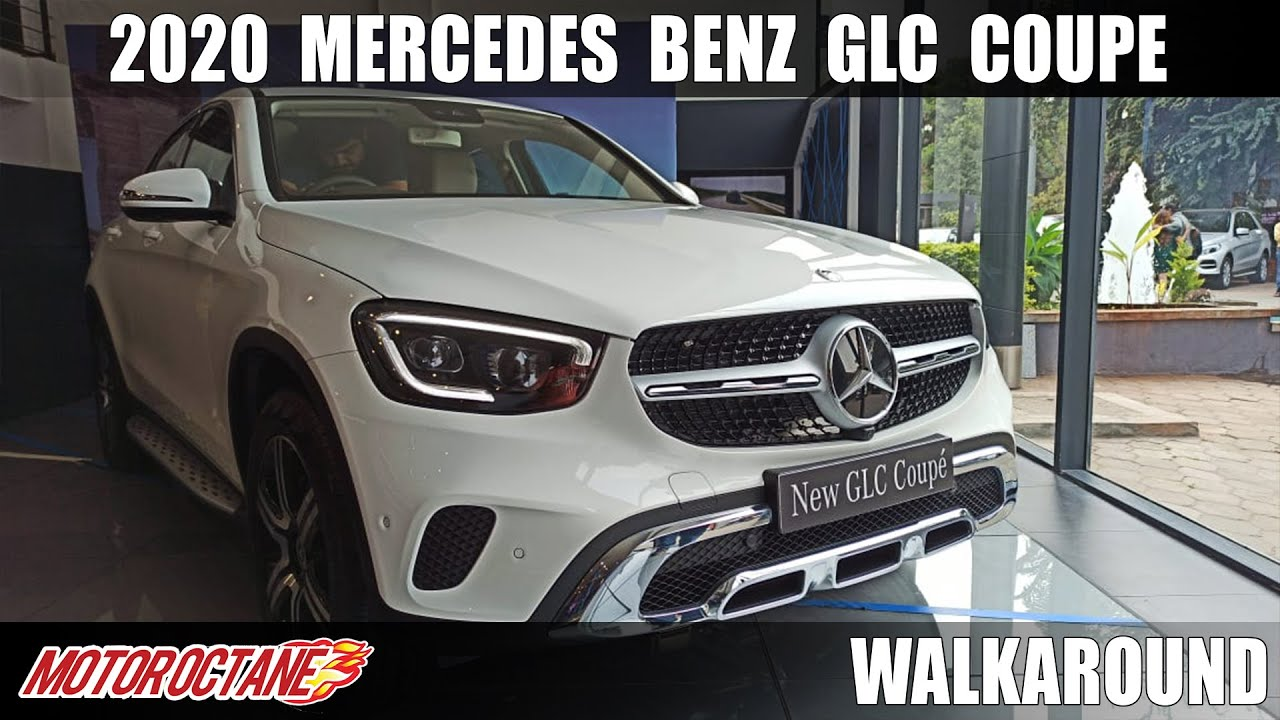 Motoroctane Youtube Video - 2020 Mercedes Benz GLC Coupe - BMW X4 Competition | Hindi | MotorOctane