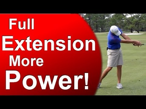 """Air Under the Armpits"" – Full Golf Swing Extension"