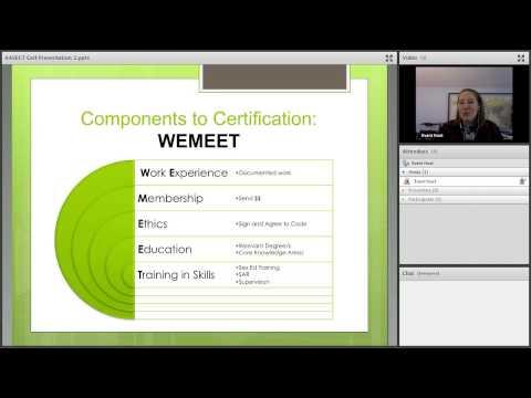 Understanding AASECT Certification - YouTube