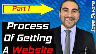 THE PROCESS OF GETTING A WEBSITE - PART 1