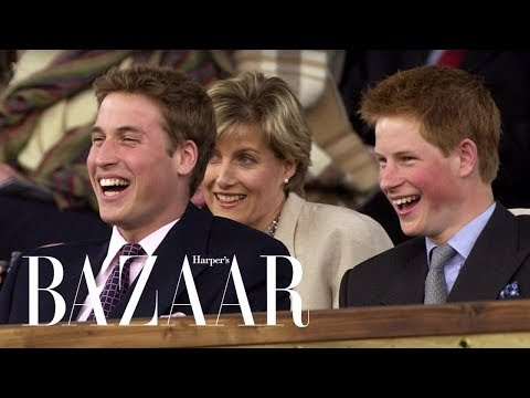 Prince William and Prince Harry's Cutest Brother Moments | Harper's BAZAAR