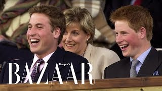 Prince Harry & Prince WIlliam's Cutest Brother Moments   Harper's BAZAAR