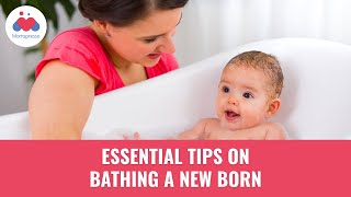 Tips On Bathing A Newborn | How and When to Bathe a Newborn | Dr. Babita Jain