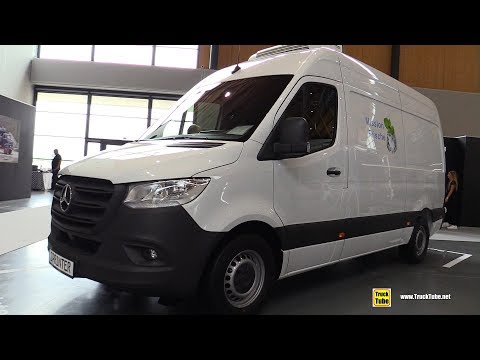 2020 Mercedes Sprinter 316 CDI Cooling Van - Exterior Interior Walkaround