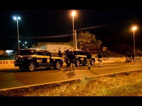 Mais protestos em Águas Lindas e PRF age contra manifestantes