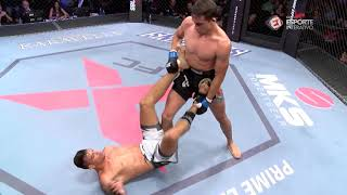 Modern-day ninja Michel Pereira brings spinning s@Xt into the XFC cage!