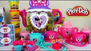 Play-Doh Juego de Te de Minnie Mouse  Cocinita de Juguete Para Niñas